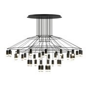 Vibia - Suspension LED Wireflow Chandelier 0376