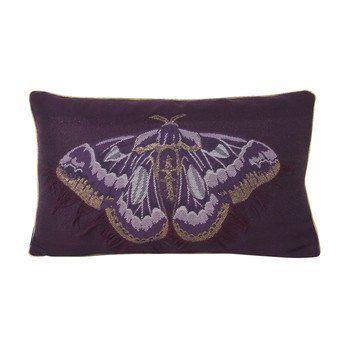 ferm LIVING - Salon Kissen Butterfly 40x25cm 7464 - Schmetterling lila