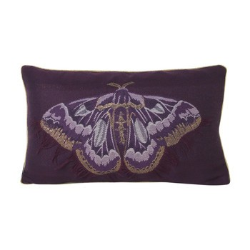 ferm LIVING - Salon Kissen Butterfly 40x25cm 7464 - Schmetterling lila