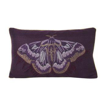 - Salon Kissen Butterfly 40x25cm - Schmetterling lila