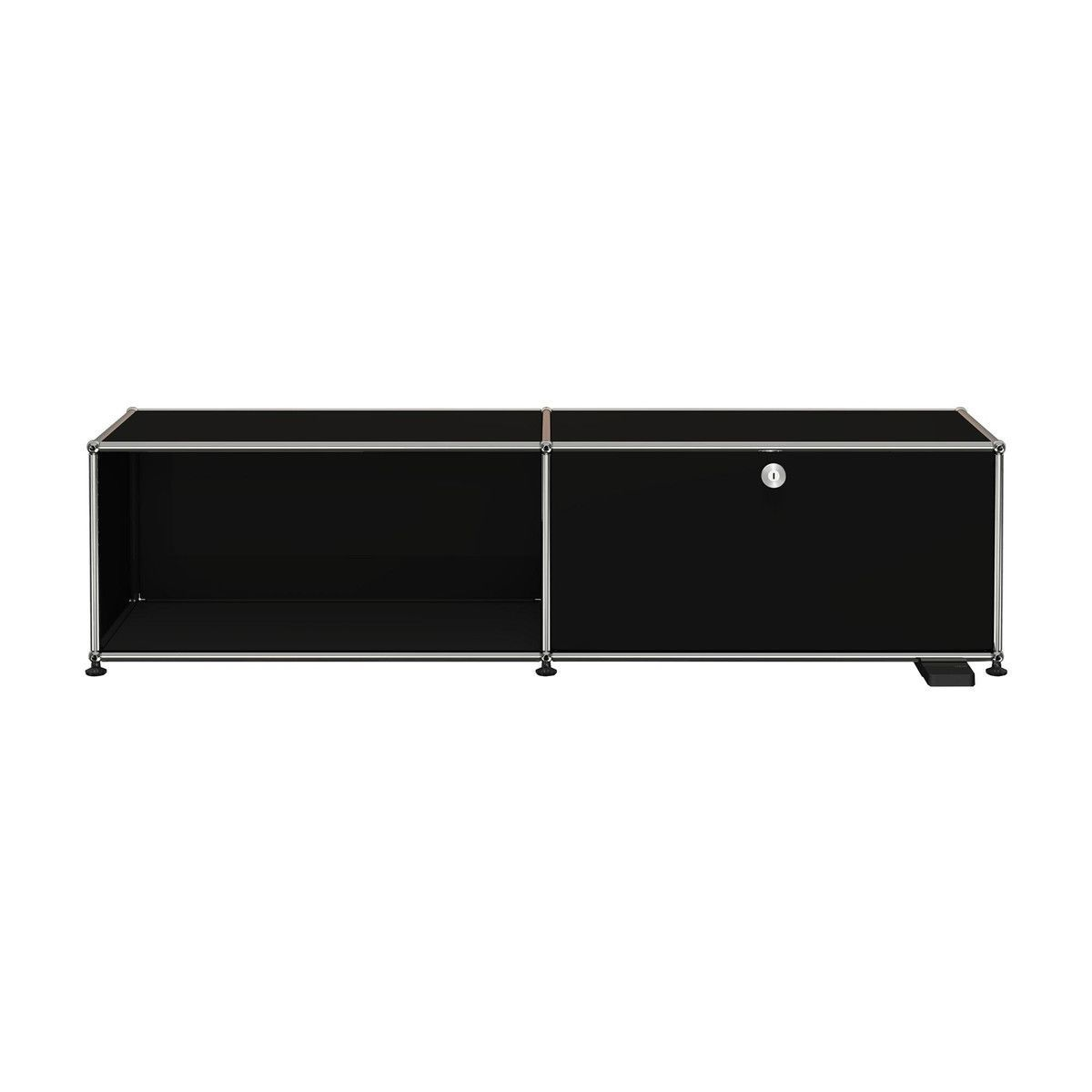 Usm Haller E Tv Hi Fi Furniture With Light Usm Haller  # Meuble Tv Usm Haller