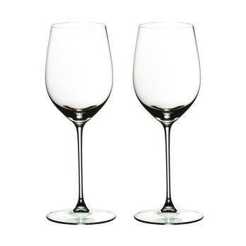 Riedel - Veritas Viognier Weinglas 2er Set - transparent/H 22,5cm, 370ccm
