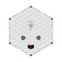 Moooi Carpets - Crystal Teddy Teppich 185x215cm