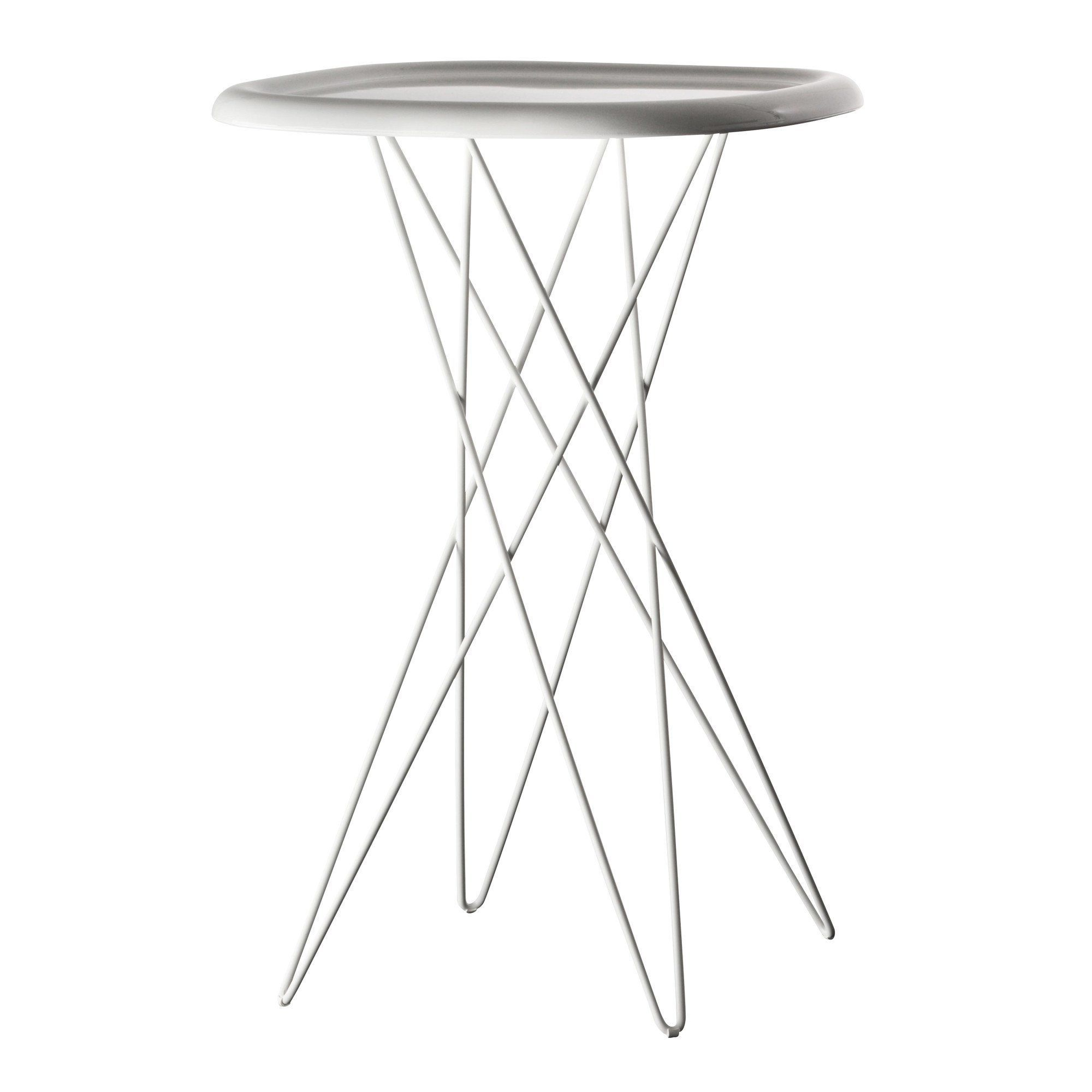 Magis   Pizza Table Bistro Table   White/glossy/frame Lacquered