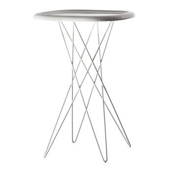 Magis - Pizza Table Bistrotisch  - weiß/glänzend/Gestell lackiert