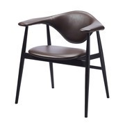 Gubi - Masculo Dining Chair - Chaise structure bois