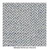 MDF Italia - Flow Slim Armlehnstuhl gepolstert New Edition 2 - blau/grau/weiß/Schale weiß/Gestell Eiche/Stoff Monaco R316 Col. 443.010/B56 x T56 x H76.4 cm