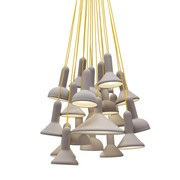 Established & Sons - Torch S20 Bunch Suspension Lamp Ø60cm