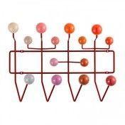 Vitra - Hang it all Garderobe - rot/Holz lackiert/Gestell Metall/Gestell rot