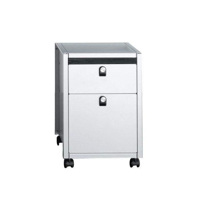 Rollcontainer alu  Lehni Office Rollcontainer | Lehni | AmbienteDirect.com