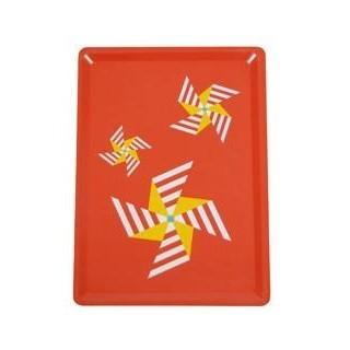 Fermob - 3 Moulins Tablett 28x20cm - rot