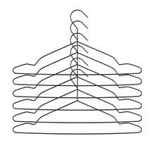 HAY - Twisted Kleiderbügel 6er Set