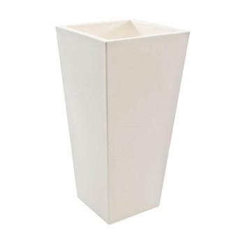 Serralunga - Kabin Extra Blumentopf - weiß / HxB 150x75cm/matt