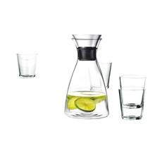 Eva Solo - Eva Solo - Set de 4 vasos + garrafa