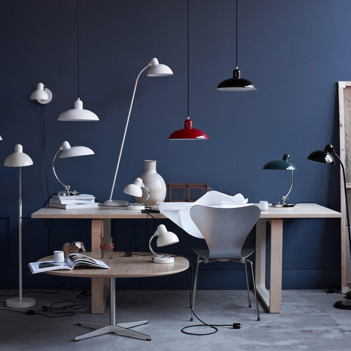 kaiser idell 6631 luxus tischleuchte kaiser idell. Black Bedroom Furniture Sets. Home Design Ideas