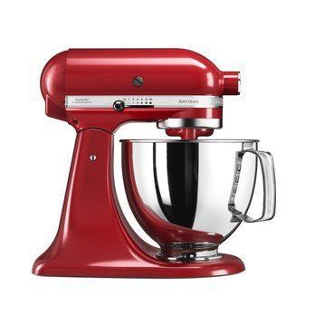 KitchenAid - KitchenAid Artisan 5KSM125 Küchenmaschine - empire rot/Metall/300W