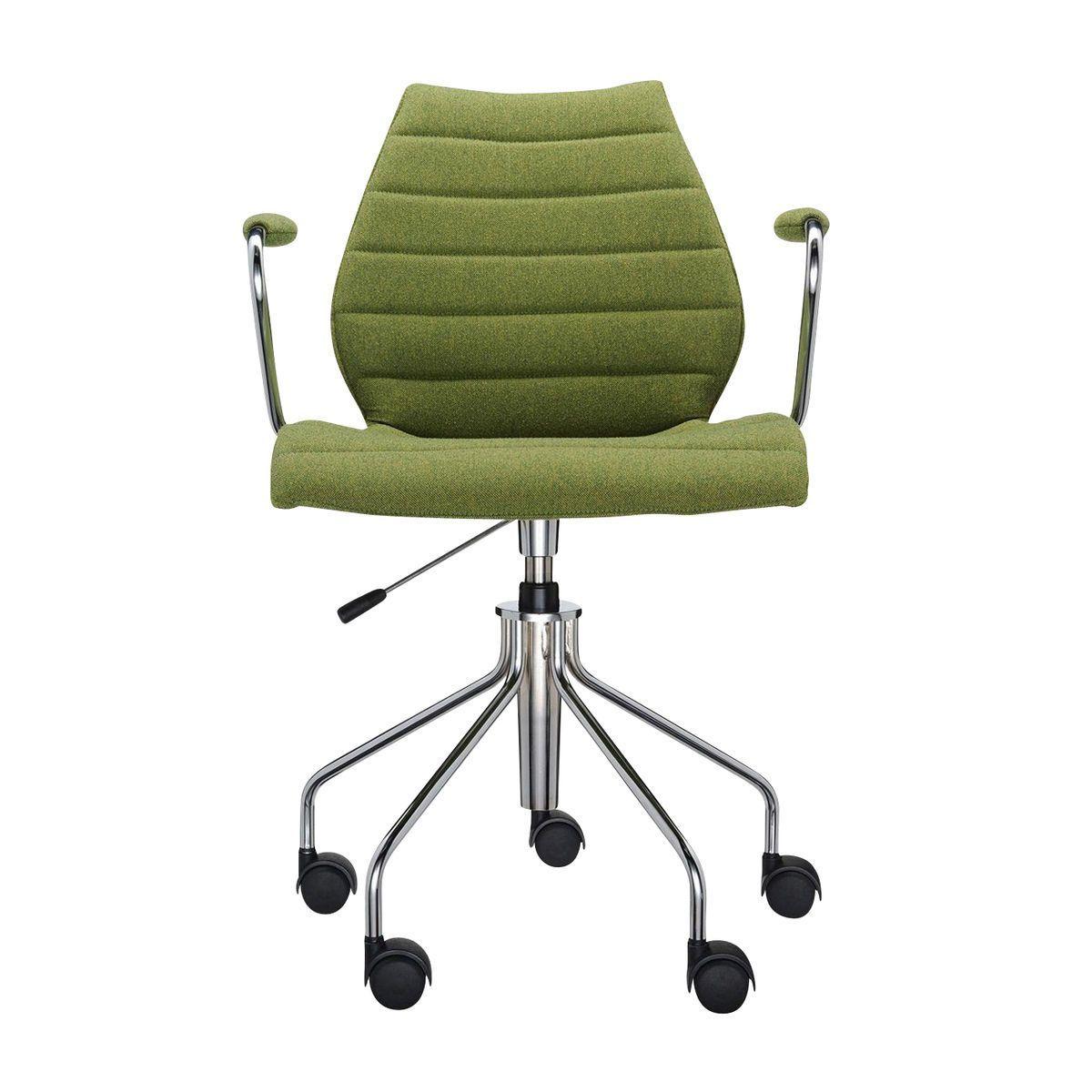Maui soft chaise de bureau avec accoudoirs kartell for Liquidation chaise de bureau