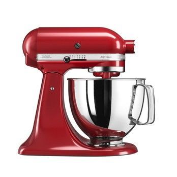 - KitchenAid Artisan 5KSM125 Küchenmaschine - empire rot/Metall/300W