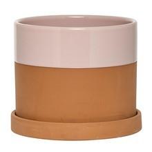 Bloomingville - Flowerpot With Saucer terracotta