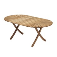Skagerak - Table de jardin extensible Selandia 180x100x73cm