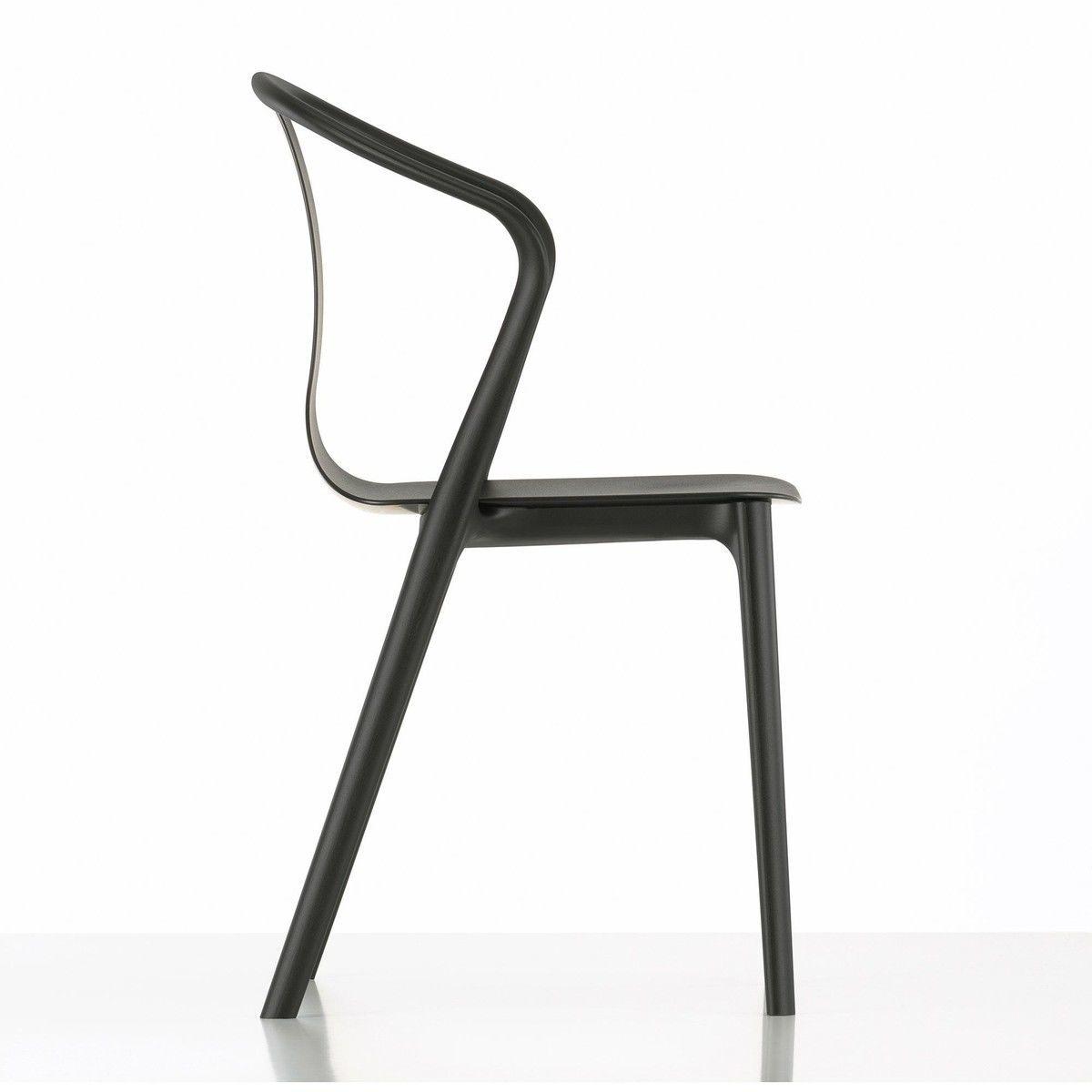 Belleville armchair plastic chaise de jardin vitra - Chaise de jardin pvc ...