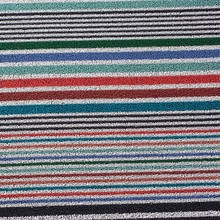 Chilewich - Shag Mixed Stripe Door Mat 46x71cm