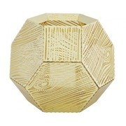 Tom Dixon - Etch - Bougeoir/photophore bois veinure