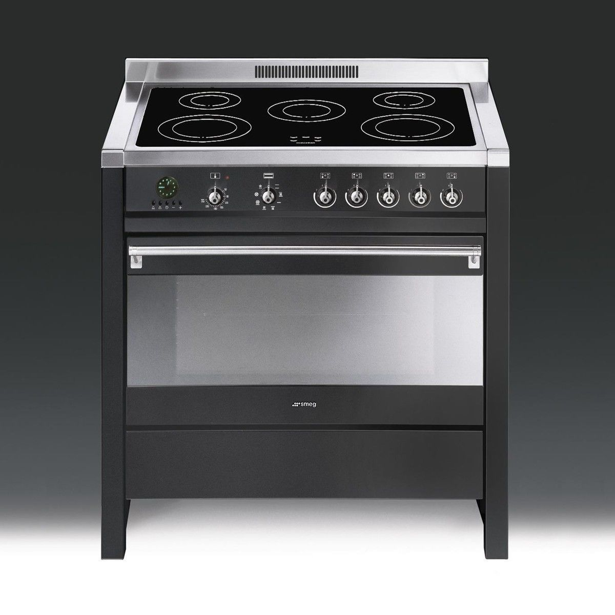 Cs19ida 7 piano de cuisson induction smeg - Piano induction smeg ...