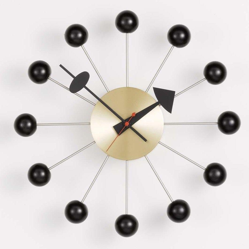 Ball clock nelson wanduhr vitra uhren klassiker for Horloge eames
