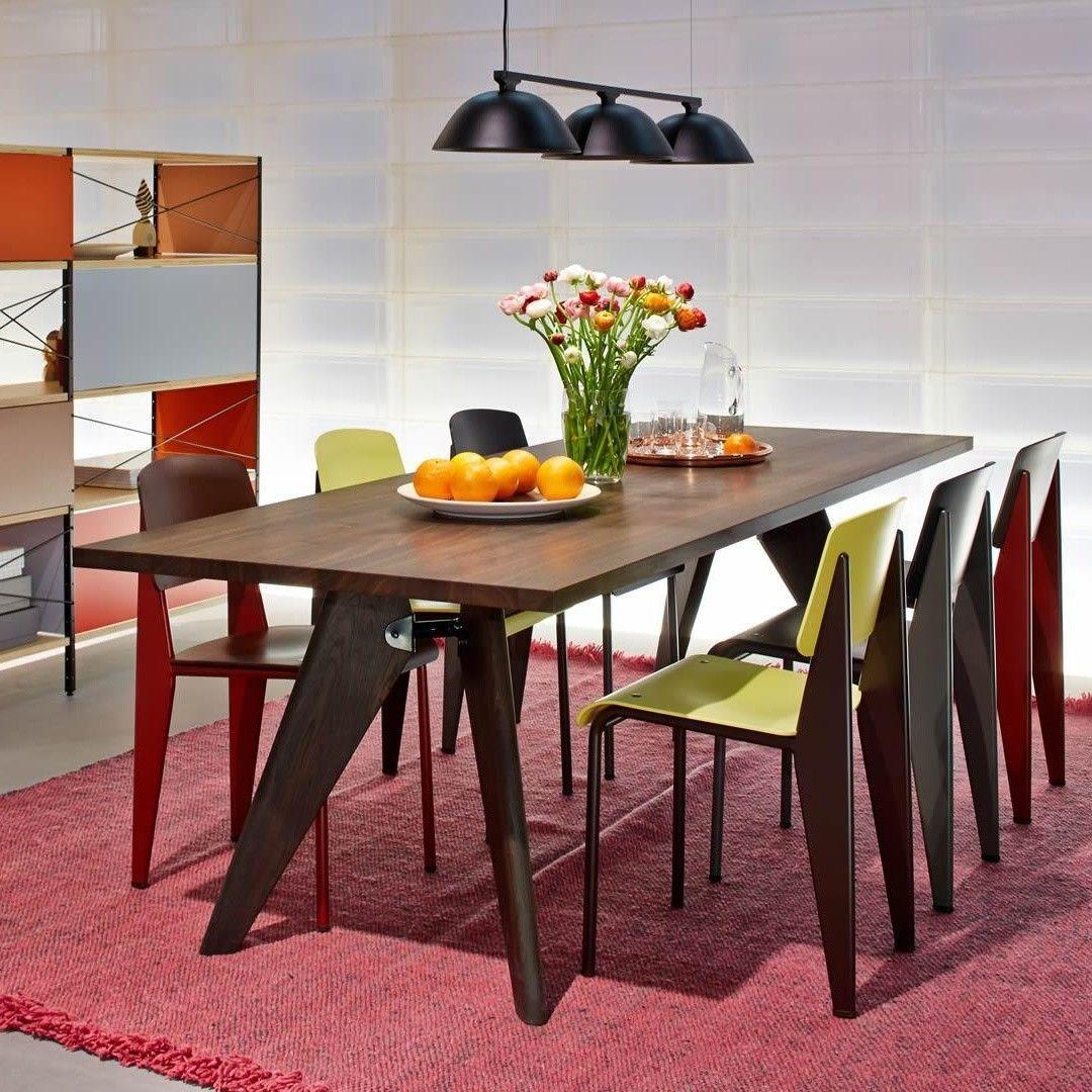 Table solvay prouv tisch vitra for Esstisch vitra