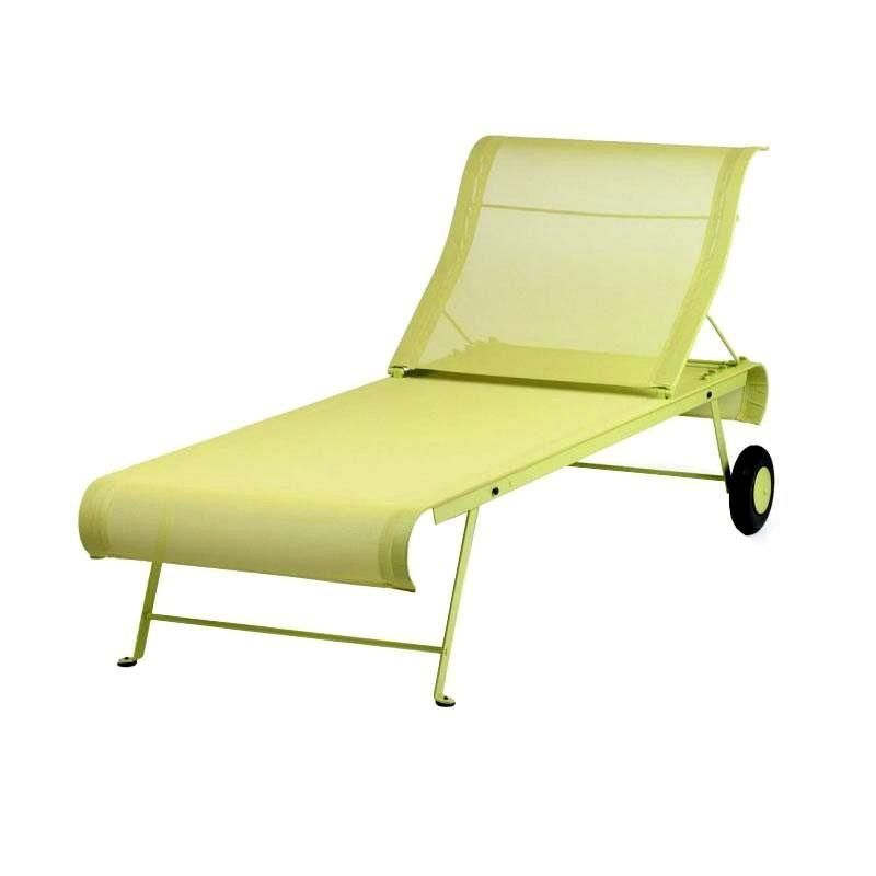 Dune sunlounger fermob - Chaise dune fermob ...