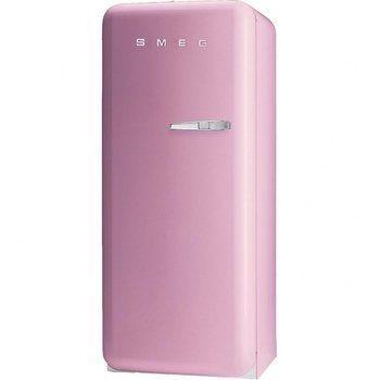 Smeg - SMEG FAB28 - Refrigerador - cadillac pink/lacado/bisagra izquierda/66x60x151cm