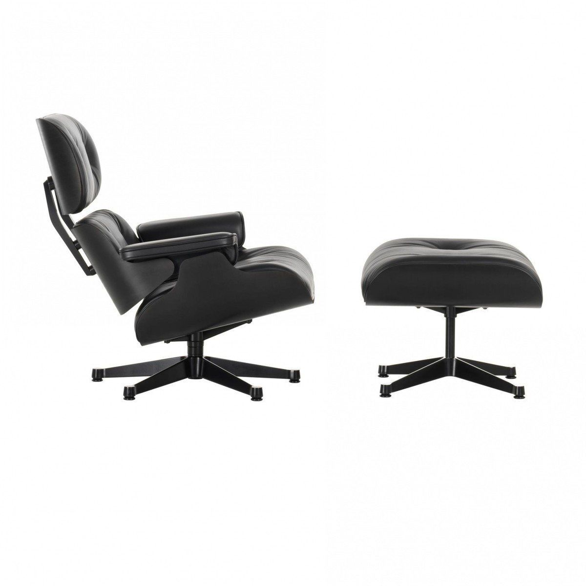 Eames lounge chair sessel ottoman vitra for Eames sessel