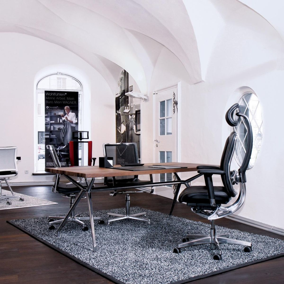 W-Table Konferenztisch rechteckig | Wagner | AmbienteDirect.com