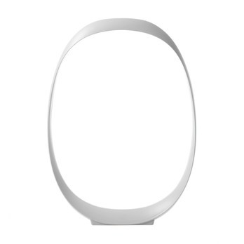 Foscarini - Anisha Grande LED Tischleuchte - weiß/mit Dimmer/LxBxH 33x5x46cm/3000K/400lm