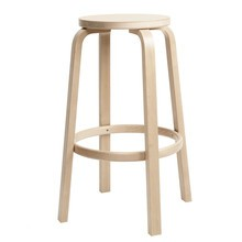 Artek - 64 Bar Chair Clear Lacquered Base 75cm