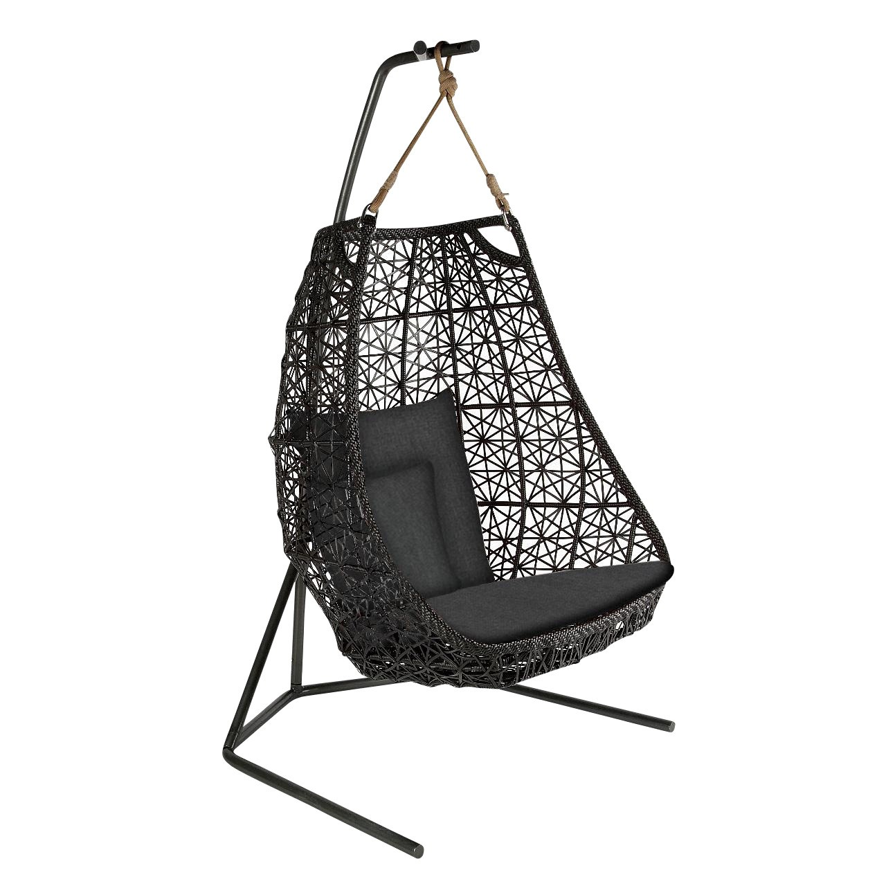 Kettal Maia Egg Swing Hanging Chair Ambientedirect