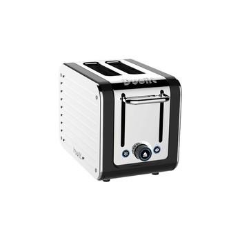 Dualit - Dualit Architect Toaster  - schwarz/Edelstahl/handgefertigt