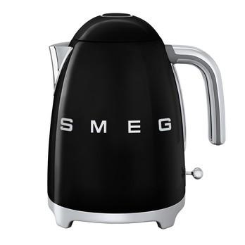 Smeg - SMEG KLF03 Wasserkocher 1,7l - schwarz/lackiert/BxHxT 22,3x24,8x17,1cm/integriertes Heizelement/Soft-Opening