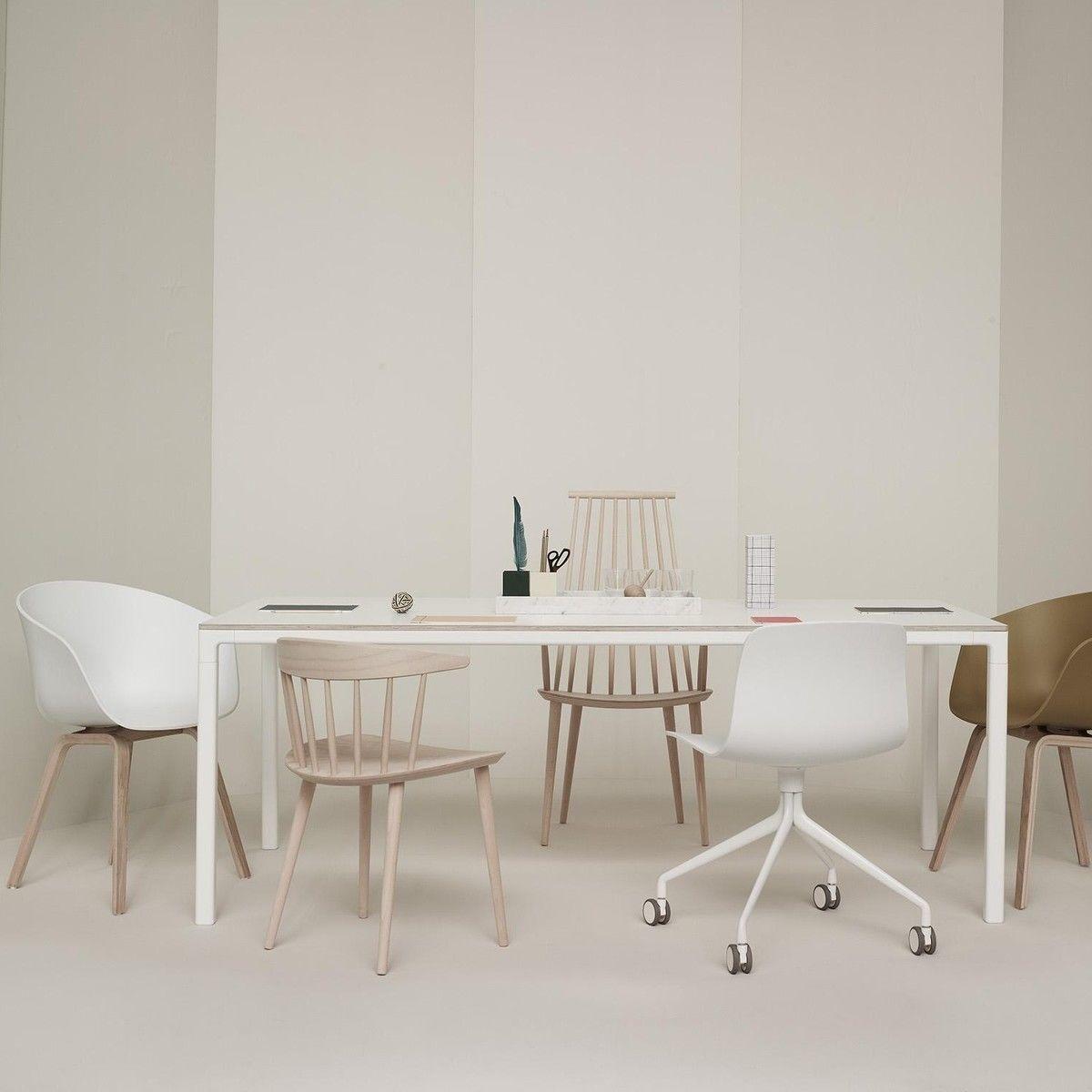 about a chair b rostuhl drehstuhl mit rollen hay. Black Bedroom Furniture Sets. Home Design Ideas