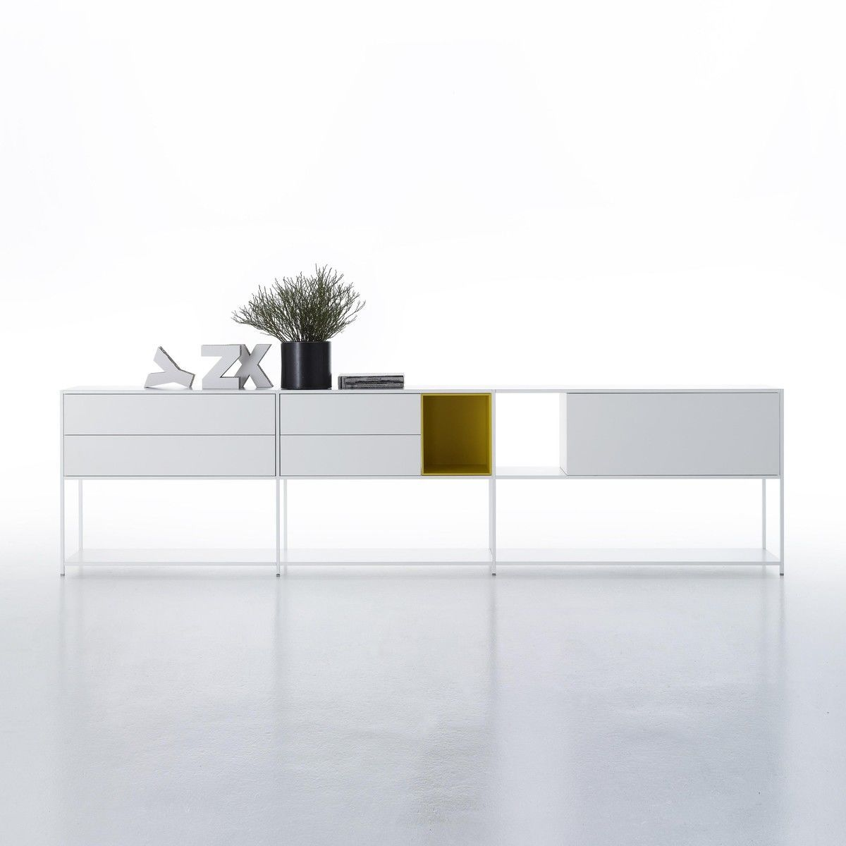 minima 3 0 sideboard 306x33x79cm mdf italia. Black Bedroom Furniture Sets. Home Design Ideas