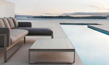 Outdoor Lounge Möbel Footer