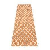 pappelina - Ants Teppich 70x270cm - hell orange/vanille/wendbar