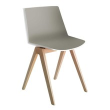 MDF Italia - Aïku Chair With Legs In Oak