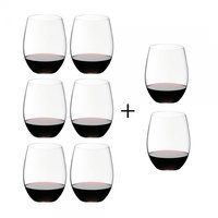 Riedel - O Wine Red Wine Glass Gift Set 6+2