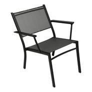 Fermob - Chaise de jardin avec accoudoirs basse Costa
