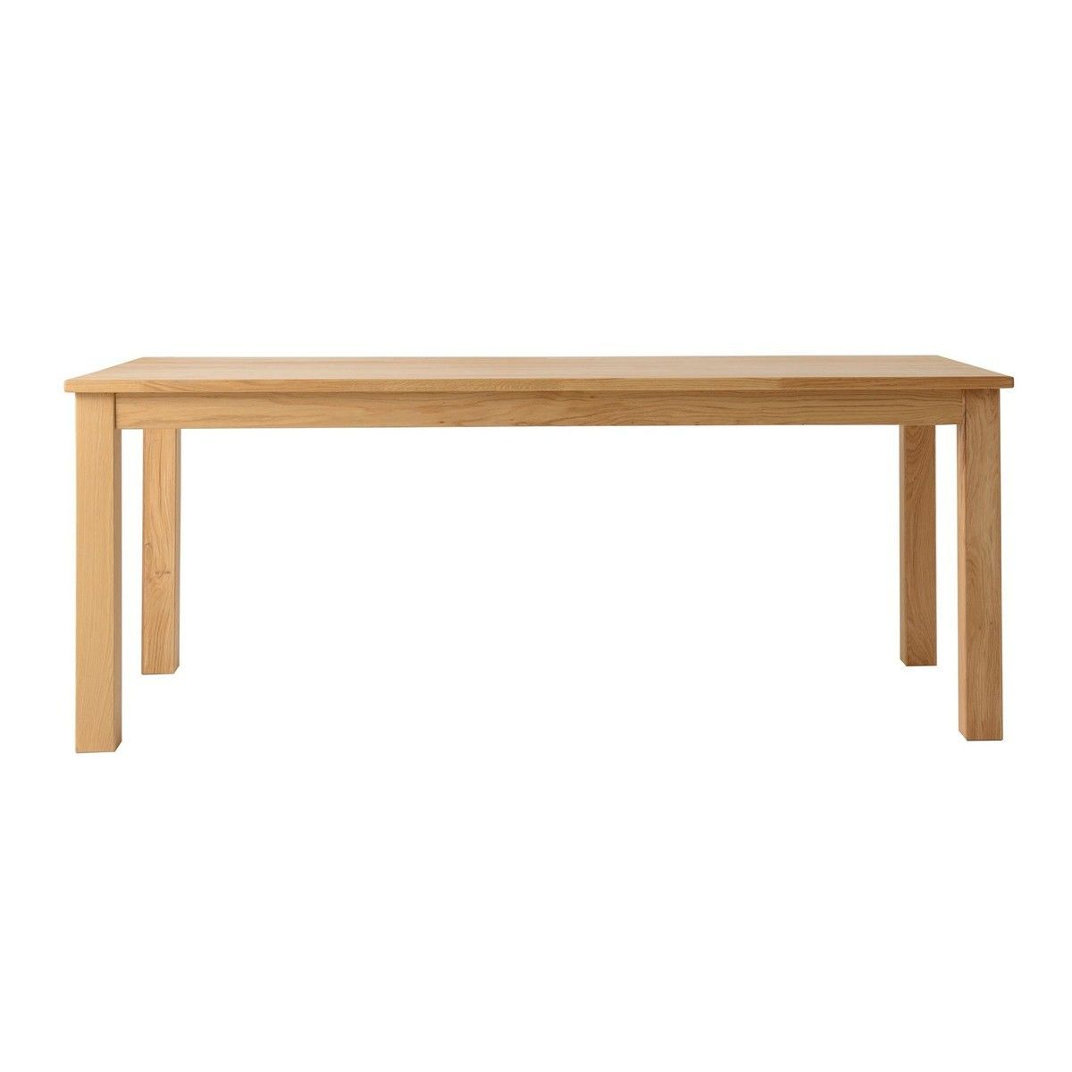 Casa solid wood dining table jan kurtz for Solid wood dining table