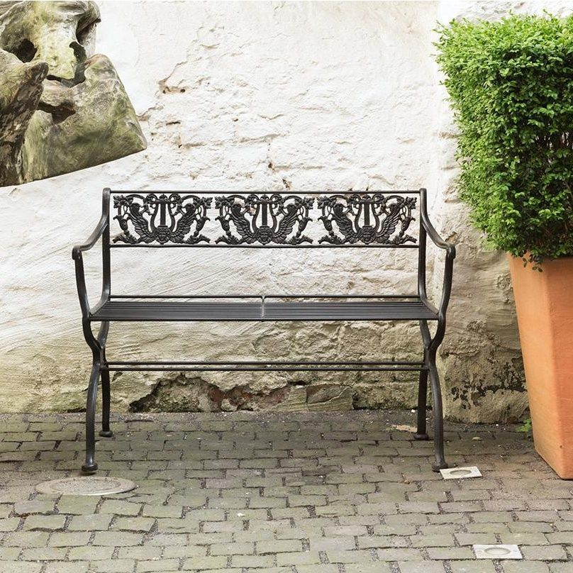 tecta d60 2 schinkel garden bench tecta. Black Bedroom Furniture Sets. Home Design Ideas