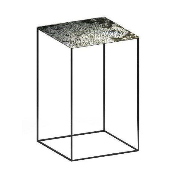 Zeus   Slim Irony Art Side Table 41x41x64cm ...