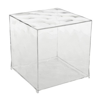 Kartell - Optic Containerkubus - transparent/offen